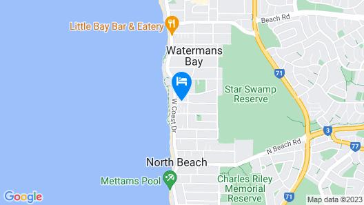 Ocean View Motel Map