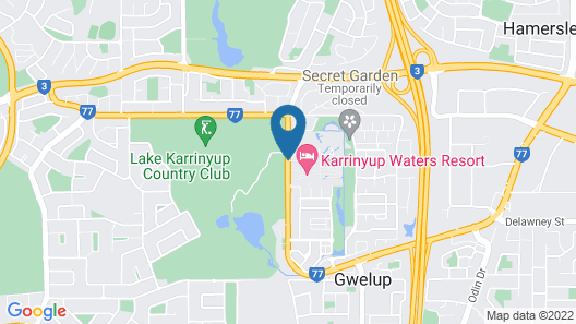 Karrinyup Waters Resort Map