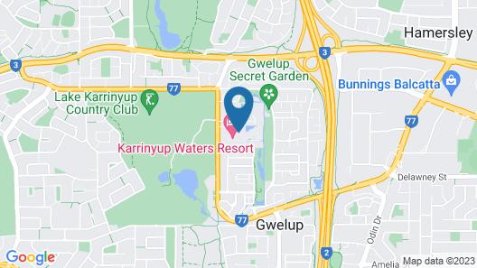 Karrinyup Waters House Rentals Map