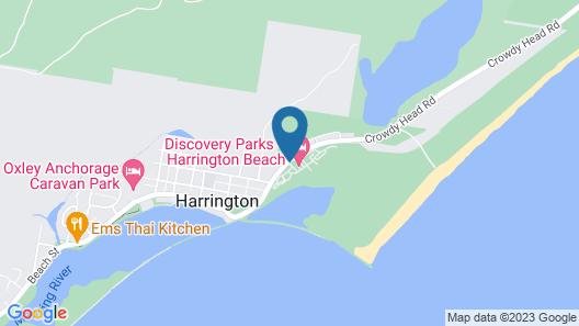 Discovery Parks - Harrington Map