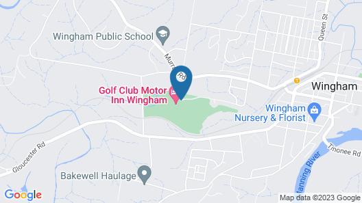Golf Club Motor Inn Wingham Map