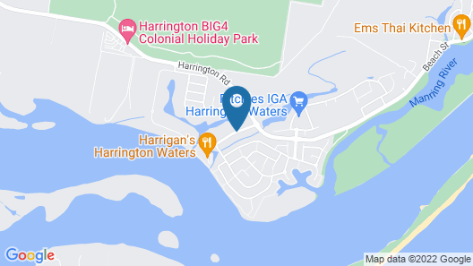 Harrington River Lodge Map