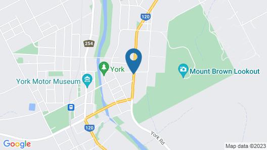 The Grandhouse York Map
