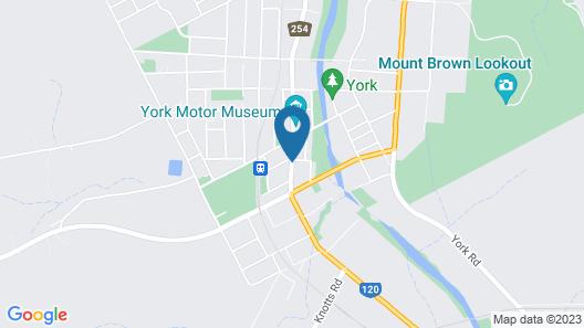 Suites on Avon Map
