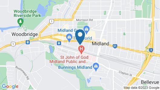 Midland Haven - Midland WA Map