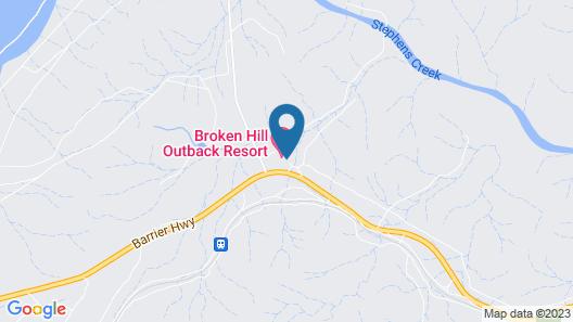 Broken Hill Outback Resort Map