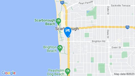 West Beach Lagoon 204 - Ground floor Map