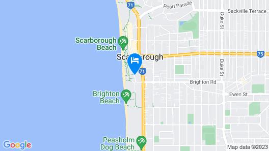 Seashells Scarborough Map