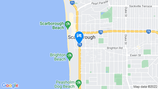 West Beach Lagoon Map