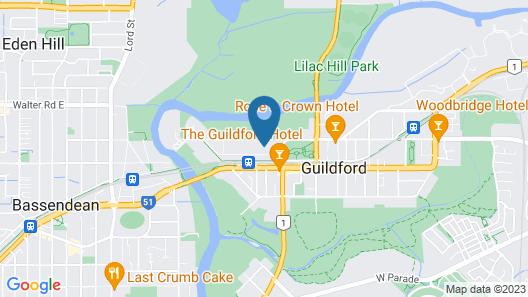 Guildford River Retreat Map
