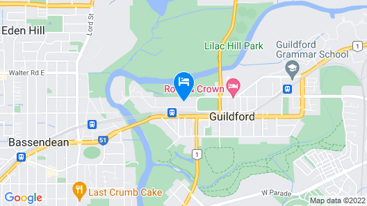 Guildford River Retreat Map