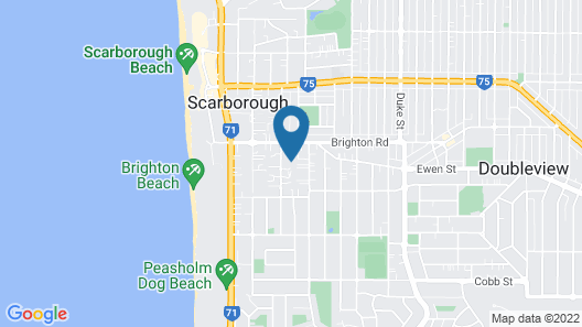 Eagles Nest Holiday or Business Apartment Map