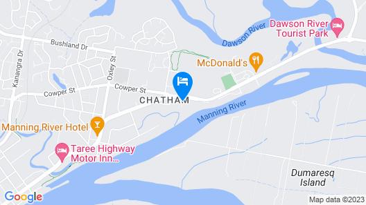 Comfort Inn Country Plaza Taree Map
