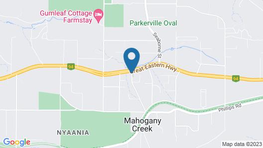 Inn Mahogany Creek Map