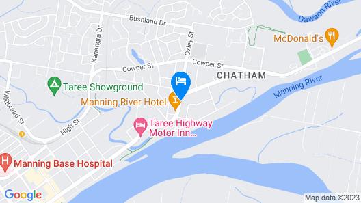 Alabaster Motor Inn Taree Map