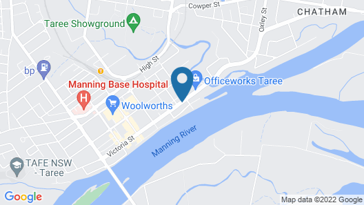 Midlands Motel Map