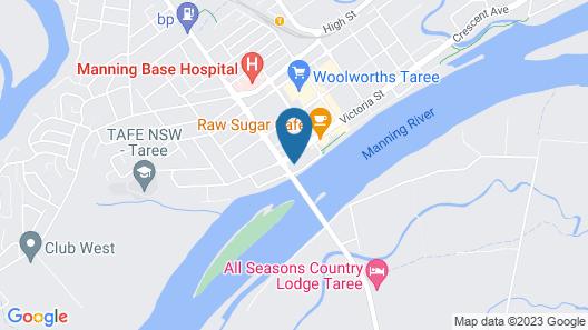 Taree Motor Inn Map