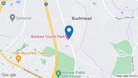 Banksia Tourist Park Map