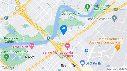 Central Caravan Park Map