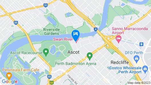 Swan River Hotel Map