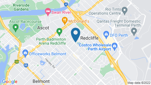 Modern Apartment Redcliffe near Perth Airport 0126 Map