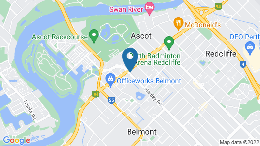 Country Comfort Perth Map