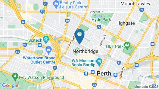 myOZexp Palmerston Lodge Map
