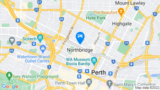Attika Hotel Map