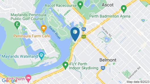 Ascot Quays Apartment 102 Map