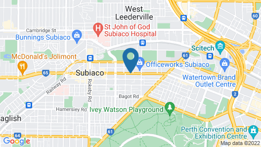 Quest Subiaco Map