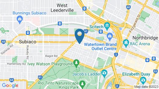Sage Perth Map