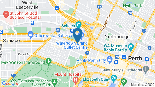 Inner City Apartments Map