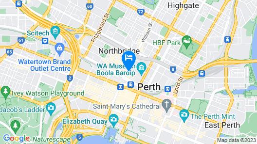 Alex Hotel Map