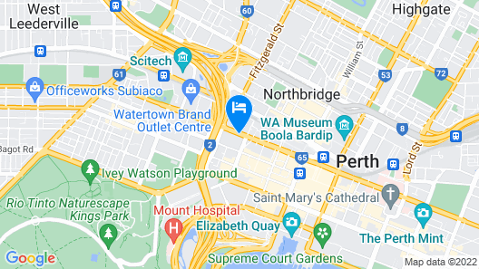 Four Points by Sheraton Perth Map