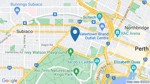 Ramada by Wyndham Perth The Outram Map
