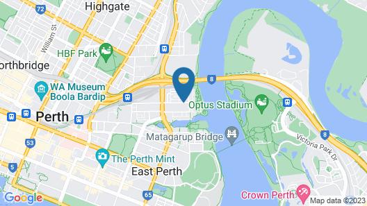 Luxe Spa on Kensington Map