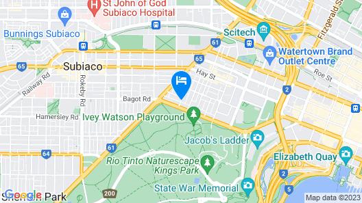 Tribe Perth Map