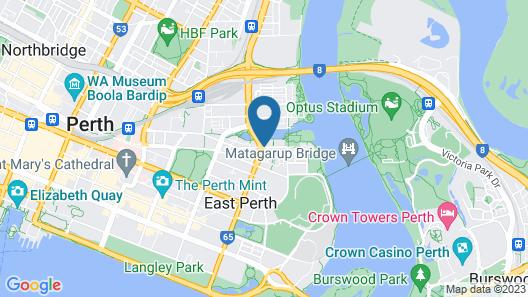 The Sebel East Perth Map