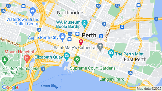 QT Perth Map