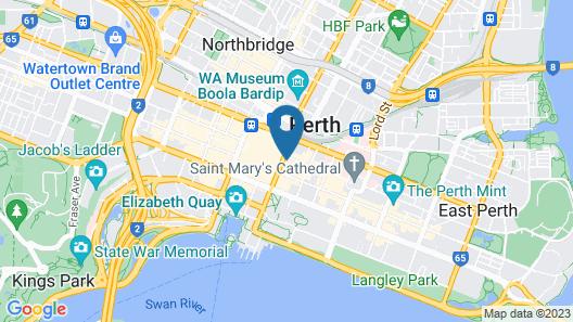 QT Perth Map