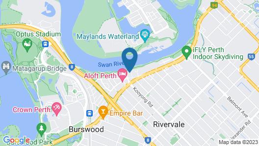 Rivervale Apartment Map