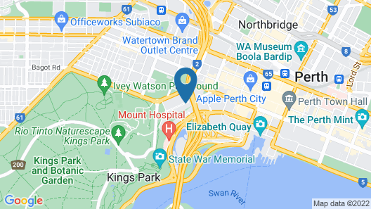 Riverview On Mount Street Map