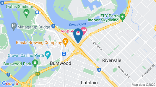 City Spring Apartment Map
