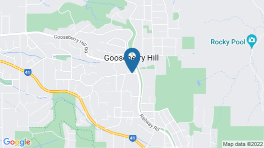 Possum Creek Lodge Map