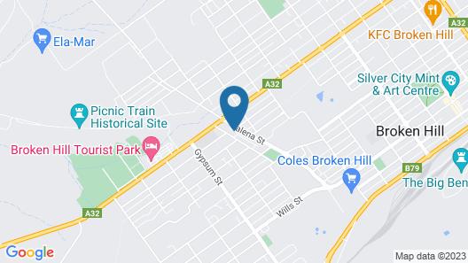 Gateway Motor Inn Map