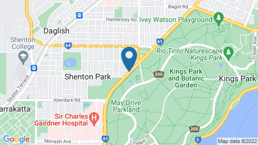 Kings Park Motel Map
