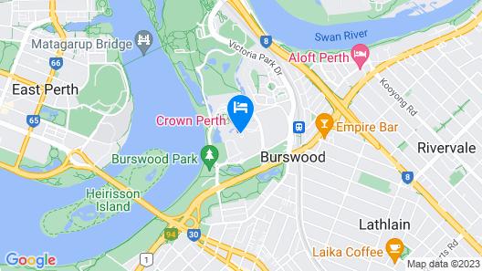 Crown Metropol Perth Map