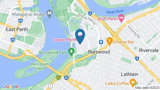 Crown Promenade Perth Hotel Map