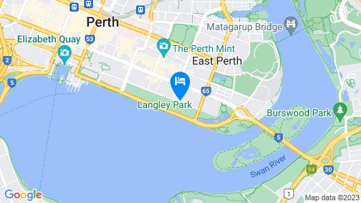 Crowne Plaza Perth, an IHG Hotel Map