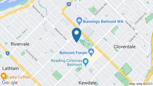 Comfy Home Close to Airport & City 2280 Map